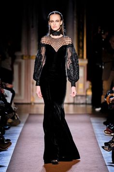 Mourning Gown for Cersei Lannister ~ Andrew Gn, Fall 2012  - well yes I'd kill someoneto wear this. ;-)