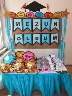 Karne High School Graduation, Graduation Gifts, Graduation Decorations, Partys, Special Day, Montessori, Children, Kids, Kindergarten