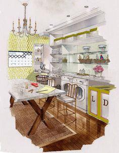 Dallas Blog   Material Girls   Dallas Interior Design » Win a Fab Laundry Room Makeover!