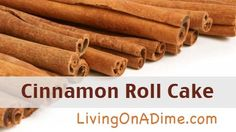 For just $ 1.50 this cinnamon roll cake recipe makes the perfect coffee cake for Christmas morning, breakfast brunch, dessert or just because!