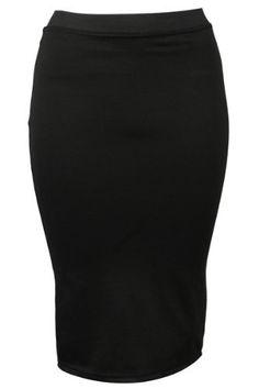 30I New Womens Pull On Elasticated Waist Ladies Stretch Pencil Skirt My1stwish. $16.95