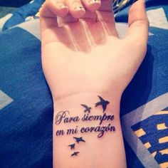 New Tattoo Quotes Memorial Sad Ideas Dove Tattoos, Flower Tattoos, Body Art Tattoos, New Tattoos, Tattoos For Guys, Tatoos, Small Quote Tattoos, Tattoo Quotes, Tattoo Small