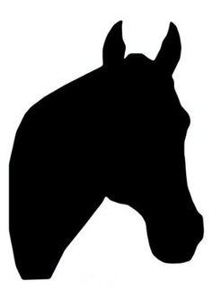 Horse Head Silhouette