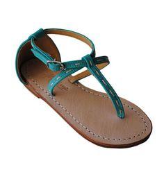 Minime 'Leanne' Aqua Sandal