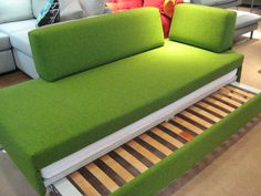 Doppio (double) sofa bed (all the time use / luxury sofa bed) from Swissplus.