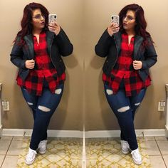 Buy plus size women's tops from Fashionmia. We have women's plus size fashion tops of many trendy styles and colors with cheap price. Winter Outfits For Teen Girls, Plus Size Winter Outfits, Plus Size Fall Outfit, Plus Size Fashion For Women, Plus Size Outfits, Fashion Women, Plus Size Summer Tops, Look Plus Size, Plus Size Summer Clothes