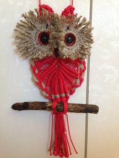 Mike Craft, String Wall Art, Simple Living Room Decor, Macrame Owl, Plant Hanger, Easy Diy, Crafty, Crochet, Crochet Batwing Tops