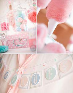 Super Cute Cotton Candy Shoppe Party
