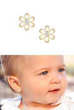 1000 Ideas About Baby Earrings On Pinterest For Babies