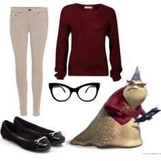 dress like monsters inc roz