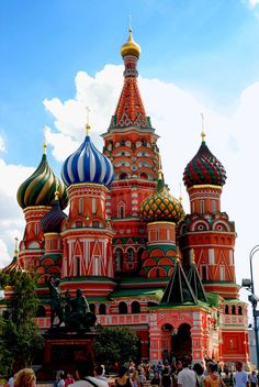 The Kremlin- Russia's equivalent of the Capitol Building. Russian architecture is absolutely stunning. Anyone wanna take me to Moscow? ;)