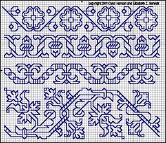 Brain Clutter: Blackwork pattern: Misc blackwork examples #5