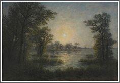 Per Ekström (1844-1935), Clair de Lune - 1904