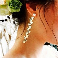 Seriously Inspiring New Ways To Pull Off Flash Tattoos  #refinery29  http://www.refinery29.com/flash-tattoos-instagram-inspiration#slide-15  Heading to a summer wedding? This low-key, ultra-feminine look is speaking to us in all the right ways. Try a floral pattern from the Isabella or Sheebani collections — worn alone or mixed with other jewels, you'll be sure to turn heads.