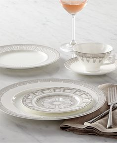 Villeroy & Boch La Classica Contura Dinnerware Collection - Dinnerware - Dining & Entertaining - Macy's