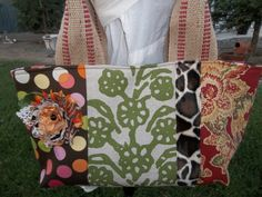 Patchwork Tote 3 by OMGDesigns on Etsy, $38.00