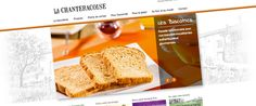 Site marketing : La Chanteracoise (juillet 2014) - http://www.la-chanteracoise.fr - #webdesign