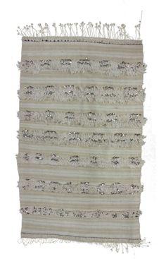HANDIRA @ Rugs USA Moroccan Wool Hand Knotted Shawl  3'7 x 5'9 $290