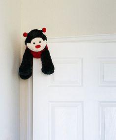 Look what I found on #zulily! Black & Red Ladybug Door Friend by My Door Friends #zulilyfinds