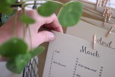 DIY greetings card organiser   Growing Spaces