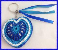 dubbellaags hartje met 2 voorkanten (overlay-crochet heart)