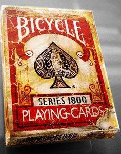 buy Bicycle 1800 Vintage Series Playing Cards by Ellusionist RED Bicycle Cards, Buy Bicycle, Bicycle Playing Cards, Vintage Playing Cards, New Deck, Card Tricks, Bingo Cards, Prayer Cards, Vintage Bicycles