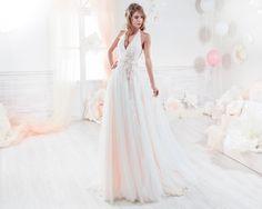 Moda sposa 2018 - Collezione COLET.  COAB18234. Abito da sposa Nicole.