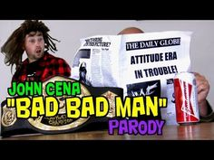 """The cast of comedy web series """"It's Still Real To Us"""" recreate and put their own spin on the music video to WWE superstar John Cena, Tha Trademarc and Bumpy Knuckles song """"Bad Bad Man""""! Who is holding the Attitude Era hostage??? (MUSIC VIDEO PARODY) www.youtube.com/TeamFilmIt"""