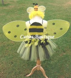 bumble bee costume with tulle   BUMBLE BEE Tutu Set..... Sizes 12 month, 18, 2T, 3T, 4T, 5T ...