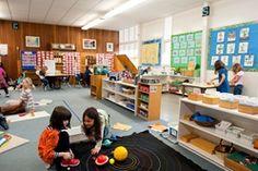 Inside the Montessori Classroom - an intro to Montessori classroom layout and design