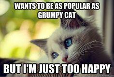 Popular as grumpy cat - credit to: swipurr.com