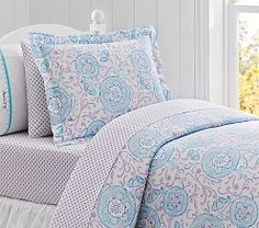 Bedding And Basics Sale | Pottery Barn Kids - loving the purples!