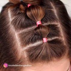 tutorial videos diy lovely hairstyle hairdo braid gorgeous s Easy Toddler Hairstyles, Easy Little Girl Hairstyles, Baby Girl Hairstyles, Box Braids Hairstyles, Short Hairstyles For Kids, Wacky Hairstyles, Children Hairstyles, Little Girl Braids, Classy Hairstyles
