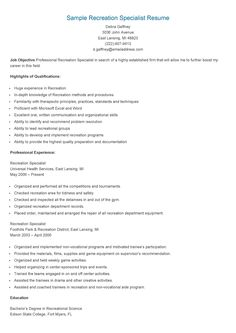 sample retirement specialist resume resame pinterest see