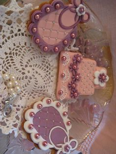 biscotti decorati per battesimo bianco e rosa. Omar Busi