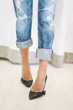 MINIMAL + CLASSIC: Isabel Marant heels & Goldsign denim