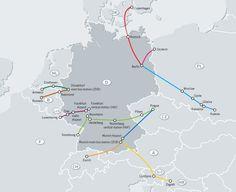 deutsche bahn railway map ice netz deutschland 2015. Black Bedroom Furniture Sets. Home Design Ideas