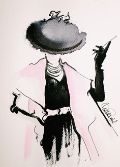 fashion illustration by Wioleta Patrycja Bąbol