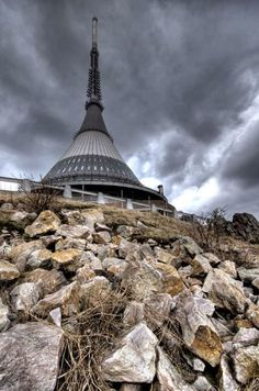 Jested Liberec Hotel Tower In Czech Republic
