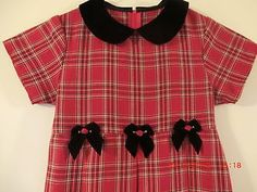 Holiday Christmas Dress Girls Toddler Aprrox size 7