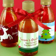 Holiday Maple Syrup