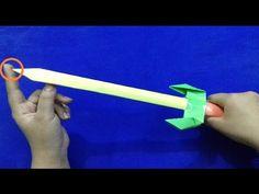How to make a Paper Sword   Paper Ninja Sword   Easy Sword Tutorial
