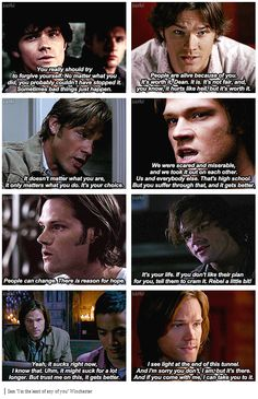 """Sam """"I'm the least of any of you"""" Winchester"""