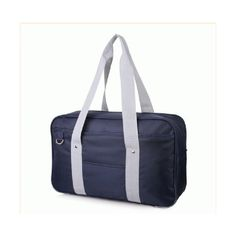 Japanese Japan Cosplay School Bag JK Uniform Bag Messenger Shoulder... ❤ liked on Polyvore featuring bags, shoulder hand bags, messenger bags, shoulder bag, messenger shoulder bag and handbags shoulder bags
