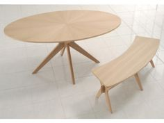 Malmo Oval White Solid Oak Veneer Dining Table