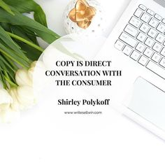 I have this quote in my office space. It's so important to remember HOW VITAL your copy is to your business. It's the most important conversation you're having with your viewers. It's like you get in their minds for a moment and in that moment you have a