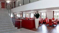 Lobby im RAMADA Hotel Leipzig City Centre