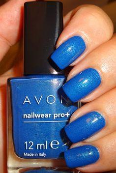Avon Nailwear Pro+ Nail Polish - Forget me not Blue