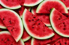 Watermelon naturally hydrates, detoxifies and cleanses your entire body on a cellular level.  Enjoy some today!!