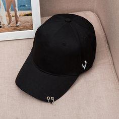$4.45 (Buy here: https://alitems.com/g/1e8d114494ebda23ff8b16525dc3e8/?i=5&ulp=https%3A%2F%2Fwww.aliexpress.com%2Fitem%2F2016-Vogue-Women-Men-Baseball-Caps-Cotton-Hats-Hip-Hop-Solid-Iron-Ring-Decor-Simple-Sport%2F32711992468.html ) Mens Snapback Hats Solid Color Iron Ring Decor Cotton Hats Women Kpop Simple Baseball Caps 2016 New Fashion Unisex Accessories for just $4.45